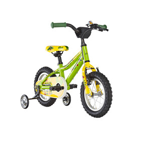 Ghost Powerkid AL 12 Childrens Bike yellow/green